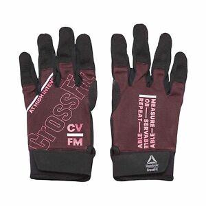 Reebok Women's Crossfit Training Gloves Medium Maroon GD1003
