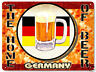 German beer METAL sign tavern bar pub / Mancave vintage style Wall decor art 080