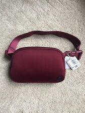 NEW *RARE* Lululemon Everywhere Belt Bag DERO Deep Rouge