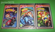 PACK CRASH TAG TEAM RACING LUCHA TITANES GUERRA AL COCO MANIACO PLAYSTATION PSP