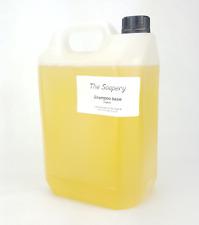 Shampoo Base Organic 5 litre Pure SLS SLES Paraben Free with Aloe Vera