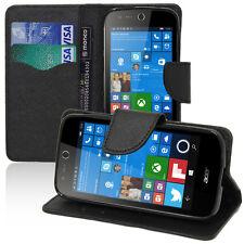 Cover Custodia NERO Portafoglio Silicone per Acer Liquid M330/ Liquid M320