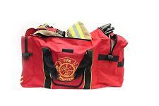 Large Red Firefighter Gear Bag / Grand sac de transport pour les pompier