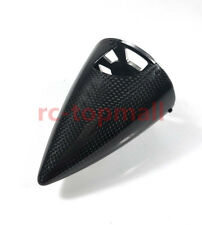 "6""/152.4 Carbon Fiber Cone Prop Spinner W/ Alu Backplate&Screw For Gas RC plane"
