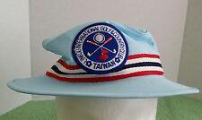 VTG Linkou International Golf Country Club Taiwan Hat Size L Boater Fishing Blue