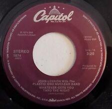 John Lennon - Whatever Gets You Thru The Night -1988- Jacksonville Pressing -New