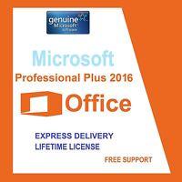 MICROSOFT OFFICE PROFESSIONAL PLUS 2016 32/64BIT LICENSE KEY- SCRAP PC