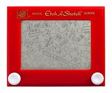Etch A Sketch Ohio Art Classic Vintage Magic Screen Red Retro Drawing Fun Toy