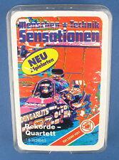 Rekorde-Quartett - Dragster - ASS - Nr. 03 54654/5 - von 1980 - NEU in Folie