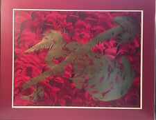 FRENCH EXPO ARTIST MAX GAILLARD PAINTING ABSTRACT SIGNED & DATED MCM