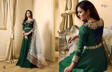 Indian Bollywood New Ethnic Designer Salwar Kameez suit Anarkali Suit dress LF