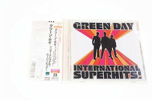 GREEN DAY INTERNATIONAL SUPERHITS! WPCR-11120 JAPAN OBI CD A10221