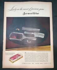 Life Magazine Ad JEWELITE By PRO-PHY-LAC-TIC 1946 AD2