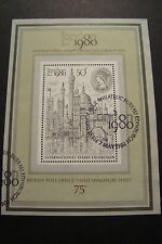 GB 1980 Commemorative Stamps~London 1980 ms~Very Fine Used Set~(ex fdc)UK Seller
