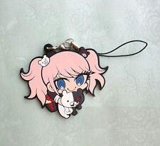 Anime Danganronpa Enoshima Junko Key Pendant Key Buckle Monokuma Rubber Keyring