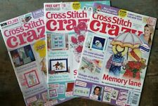 New ListingCross Stitch Crazy Magazines lot of 3. Issues 198, 199, & 200