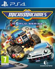 Micro Máquinas World Serie (PS4) NUEVO Y Sellado - Importado - ENVÍO RÁPIDO