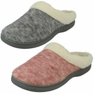 Ladies So Comfy Mule Slippers Tara