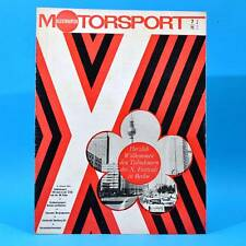 DDR Illustrierter Motorsport IMS 7 1973 Wartburg 353 Teterow A 112 Giovani O