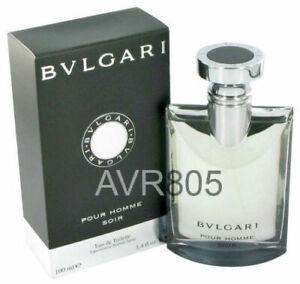 Bvlgari Bulgari Soir 100ml EDT Spray for Men Tester