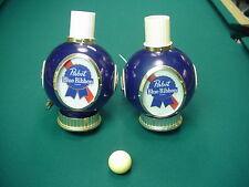 Pabst Blue Ribbin Beer Sconces Pair Vintage