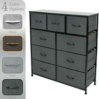 Sorbus Dresser w/ 9 Drawers - Furniture Storage Chest Tower Unit for Bedroom
