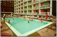 St. Louis, Missouri Postcard BEL AIR MOTOR HOTEL (East) Swimming Pool Scene 1975