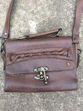 NAS Bag purse brown Korea small faux leather