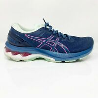 Asics Womens Gel Kayano 27 1012A649 Mako Blue Running Shoes Lace Up Size 6.5