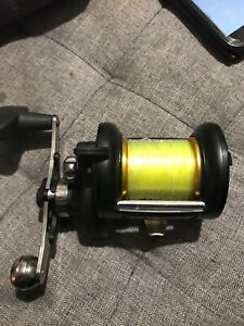 PENN 525 SUPER MAG SEA FISHING MULTIPLIER EXCELLENT CONDITION,