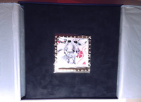 "NIB RARE 8"" Swarovski Crystal Photo Album & Frame Holds 120 Pics 2004 USA Seller"