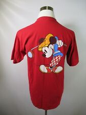 G2665 VTG 90's Disney Mickey Mouse T-Shirt Made in USA Size L