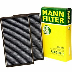 BMW Cabin Filter MANN CUK 3139-2 Cabin Air Filter