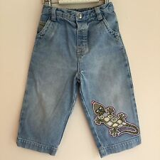 Next, lizard/chameleon Light denim jeans, boys, 12-18 mo