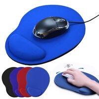 Ergonomic Comfort Wrist Support Mouse Pad Mice Mat Computer PC Laptop Non Slip &