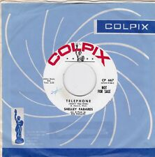 """Shelley Fabares """"Telephone"""" & """"Big Star"""" 1962 Promo Colpix 667 Looks & Plays NM"""