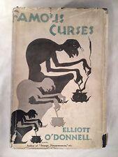 Elliott O'Donnell - Famous Curses - 1st/1st Skeffington 1929, Rare Original D/W