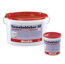 (4,09€/1kg) decotric Gewebekleber GF 5 kg