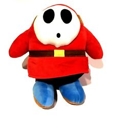 "Super Mario Bros. Plush The Shy One 13"" Large Stuffed Character Doll"