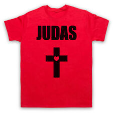 GAGA JUDAS CROSS BORN THIS WAY POP ICON 5XL RED MENS T-SHIRT