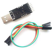 Negro USB 2.0 a TTL UART 6PIN CP2102 Módulo Convertidor Serie T1 Cables gratis
