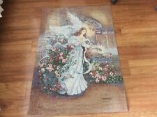 Jim Shore Welcome Home Angel Remembrance Tapestry Wall Hanging Panel ~ Artist