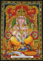 Lord Ganesha Ganpati Indian God Tapestry Wall Hanging Throw Poster hippie 40*30