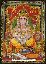 Lord Ganesha Ganpati Indian God Tapestry Wall Hanging Throw Poster Bohemian Art
