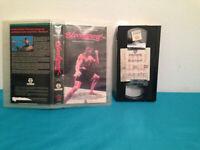 Bloodsport VHS tape & case RENTAL FRENCH  kumite action frank dux