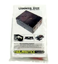 Solarbotics Useless Box Gm3 Hinge Edition Educational Kit Sku: 60005 New in Pkg