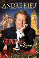 André Rieu Johann Strauss Orchestra - Christmas In London (NEW DVD)