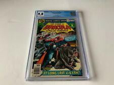 TOMB OF DRACULA 67 CGC 9.8 WHITE PAGES AT LONG LAST LILITH MARVEL COMICS 1978