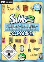 Die Sims 2 - Küchen- und Bad-Einrichtungs-Accessoires (A... | Game | Zustand gut