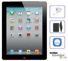 Apple iPad 2nd Generation - 32GB Wi-Fi Tablet 9.7 in | Black | Plus Bonus Bundle
